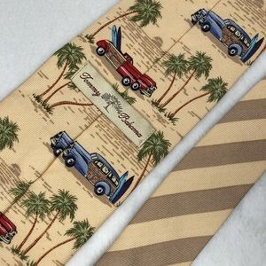 Tommy Bahama Accessories - Tommy Bahama Woody Print Tie